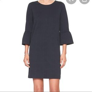 Banana Republic Factory Plaid Bell Sleeve Dress